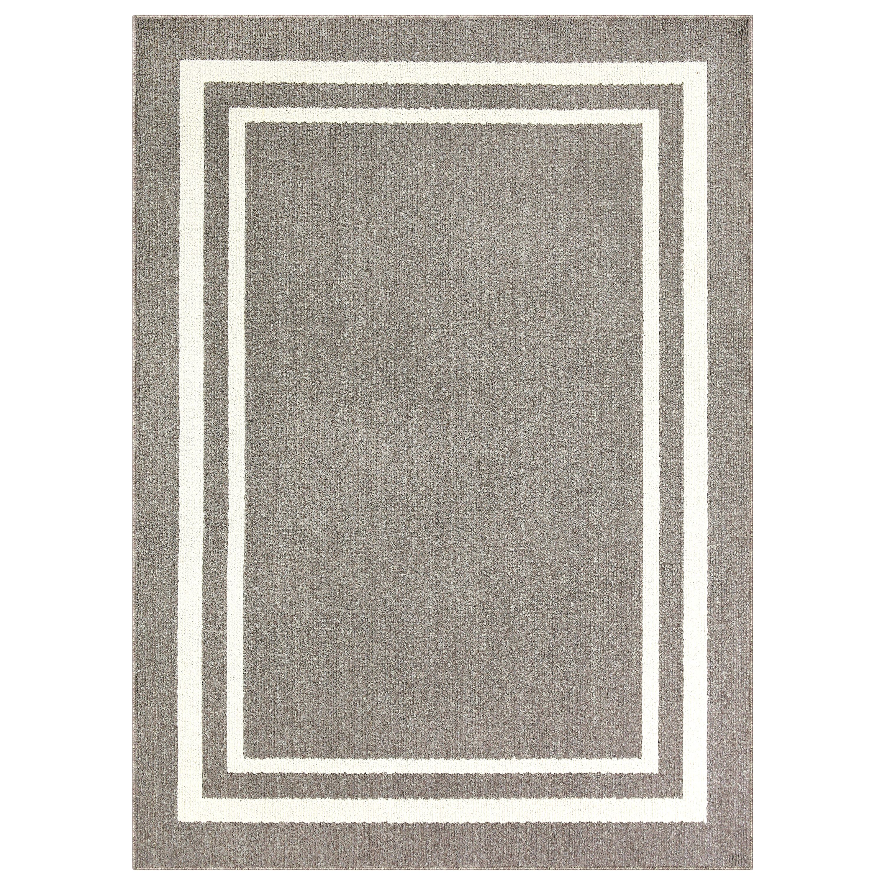 Mainstays Frame Border Area Rugs Or Runner Multiple Sizes
