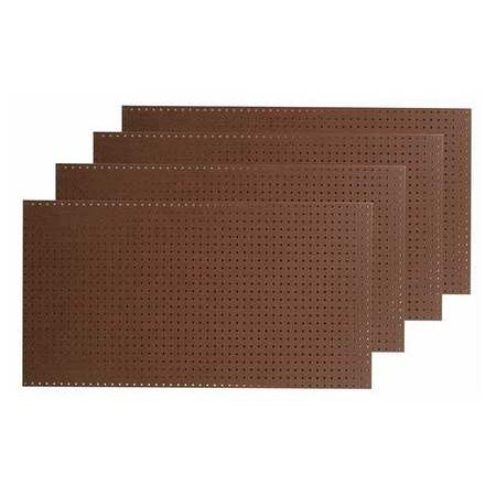 Pegboard, Brown ,Tempered Wood Pegboard, TPB-4BR