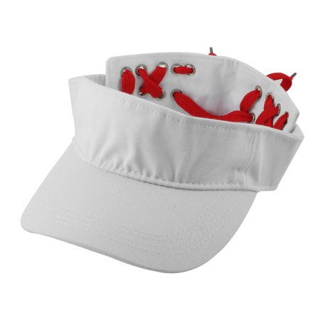 7c67073c5f352f Women Outdoor Summer Sports Baseball Tennis Casual Sun Hat Visor Cap White  - Walmart.com