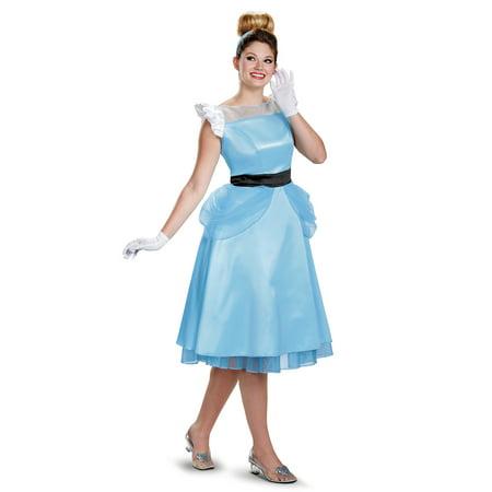Womens' Cinderella Vintage Deluxe Adult Costume - Cindrella Costume