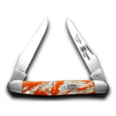 CASE XX Tennessee Orange Corelon 1/500 Muskrat Pocket Knife Knives