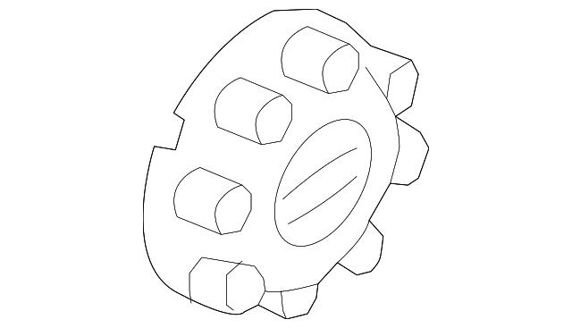 Genuine Ford Wheel Cap HC3Z-1130-L