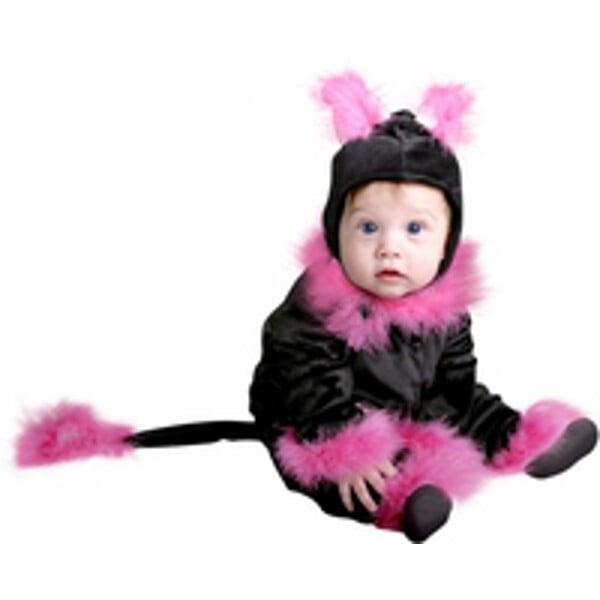 Baby Pink Cat Costume