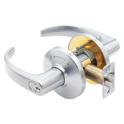 BEST 9K37IN14DS3626 Lever Lockset,Mechanical,Intruder,Grd. 2 G1608656