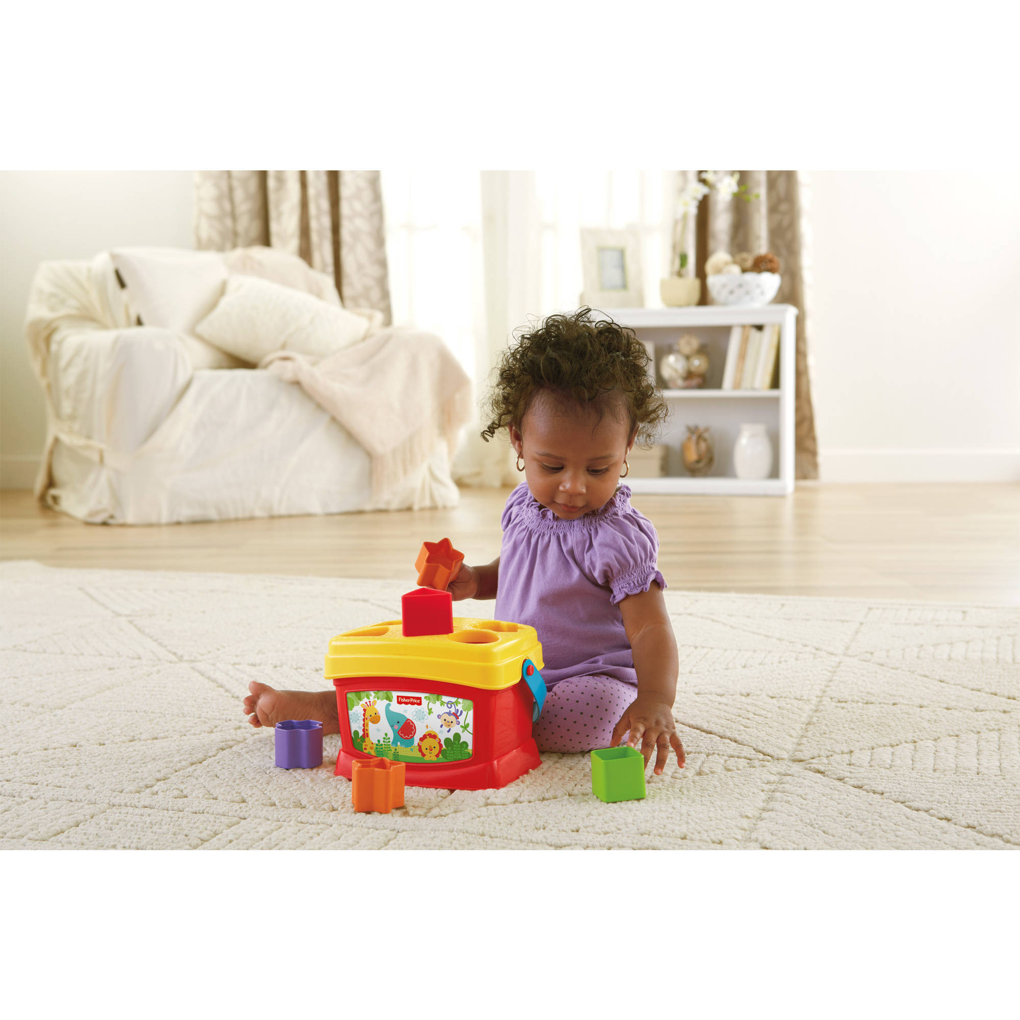 Fisher Price Baby s First Blocks Walmart