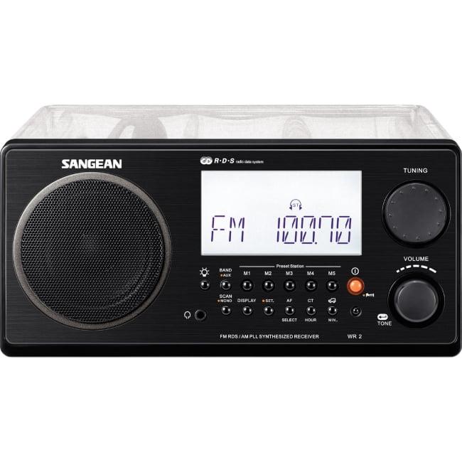 Sangean Wr-2cl Portable Clock Radio - 7 W Rms - Stereo - ...