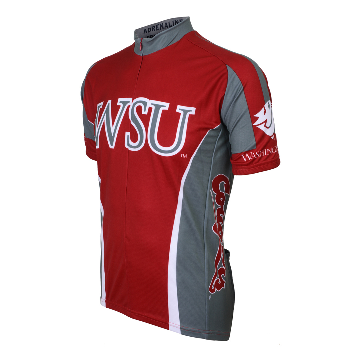 Adrenaline Promotions Washington State University Cougar Cycling Jersey