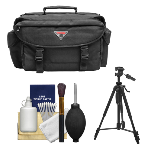 2000 Deluxe SLR Camera Bag/Case + Tripod for Canon EOS 70...