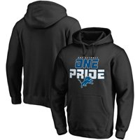 Detroit Lions NFL Pro Line Hometown Collection Pullover Hoodie - Black