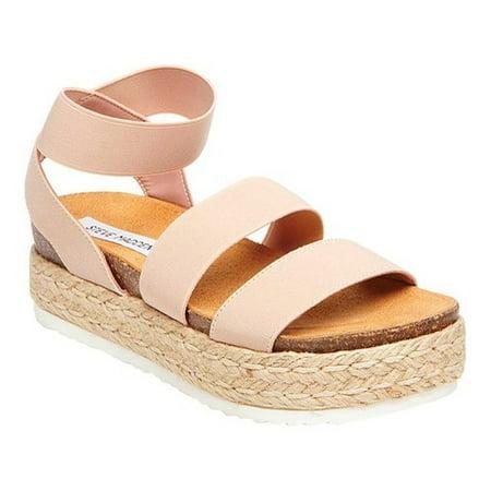 00b625e58f2 Steve Madden Women's Kimmie Flatform Espadrille Sandal