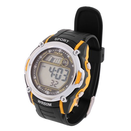 Men Snooze Hourly Chime Function Adjustable Sport Watch