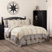 """VHC Brand Elysee 105""""W X 95""""L King Quilt 18005"""