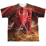 Anne Stokes - Dragons Lair (Front/Back Print) - Youth Short Sleeve Shirt - Medium