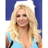 Britney Spears At Arrivals For The Smurfs 2 Premiere Stretched Canvas -  (8 x 10)