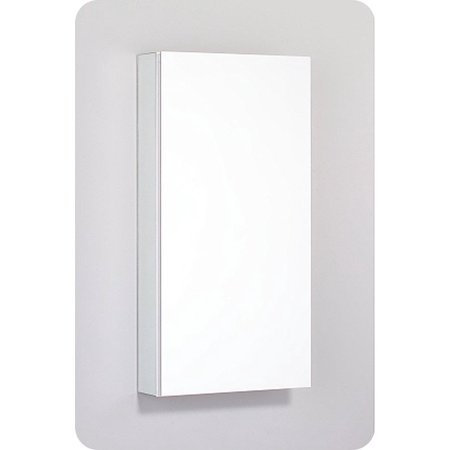 """Robern PLM1630G PL Series 15-1/4"""" x 30"""" Customizable Medicine Cabinet w/ Wide Flat Door With Cabinet Hinge: Non-Handed, Left or Right Hinge, Style and Color: Gray Interior, Mirror Type / Lens: Plain"""