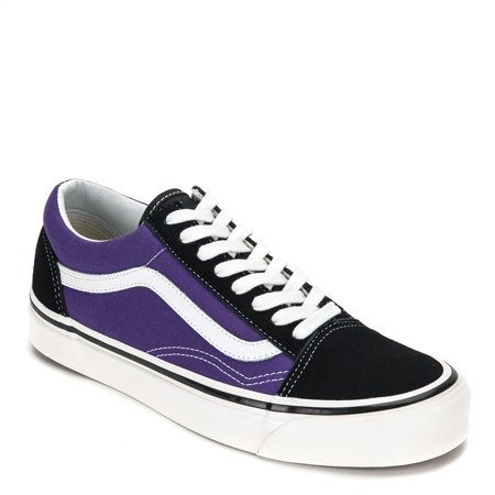be803a20120754 Vans - Vans Anaheim Factory Old Skool 36 DX Sneakers VN0A38G2QWA  Black Bright Purple - Walmart.com