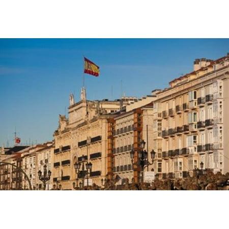 Waterfront Buildings Santander Spain Canvas Art   Walter Bibikow  Danitadelimont  18 X 12