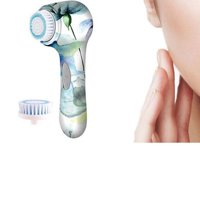 Superior Floral Print Facial Power Brush