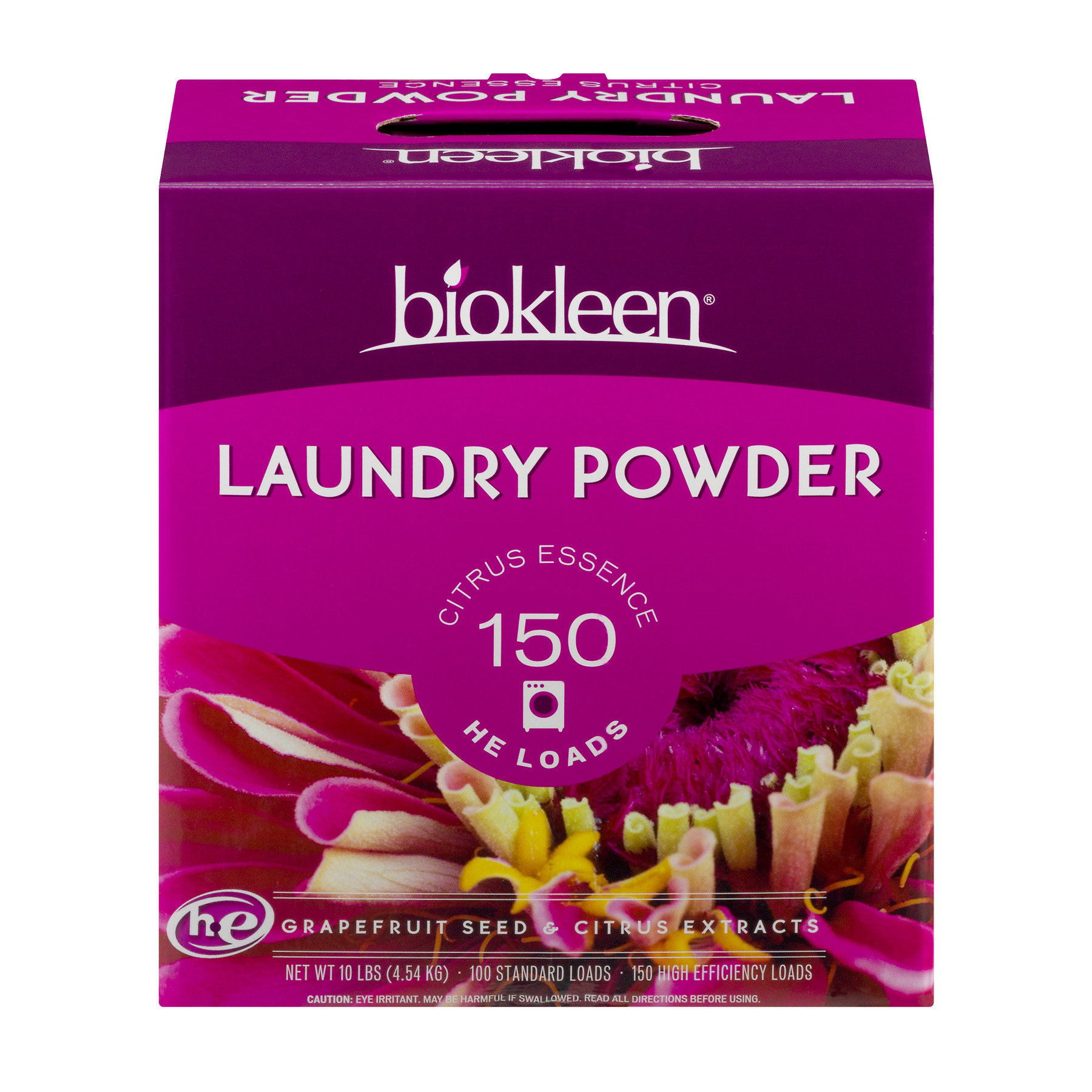 Biokleen Laundry Powder Citrus Essence, 10.0 LB