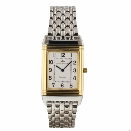 Pre-Owned Jaeger Lecoultre Reverso 250.5.08 Two Tone Women Watch (Certified Authentic & (Jaeger Lecoultre Ladies)