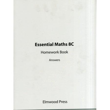 Essential Maths: Homework Book Answers Bk. 8C (Paperback