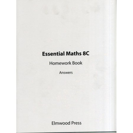 Essential Maths: Homework Book Answers Bk. 8C (Paperback