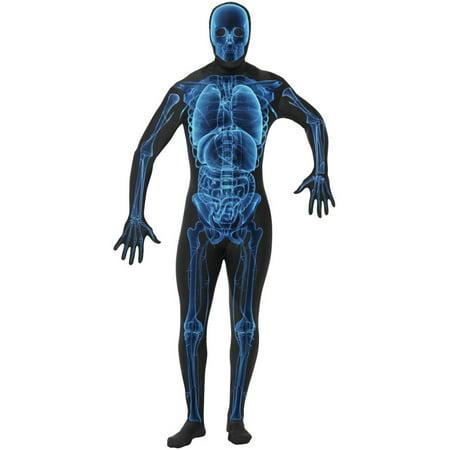 X-Ray Second Skin Adult Costume](Rap Costume)