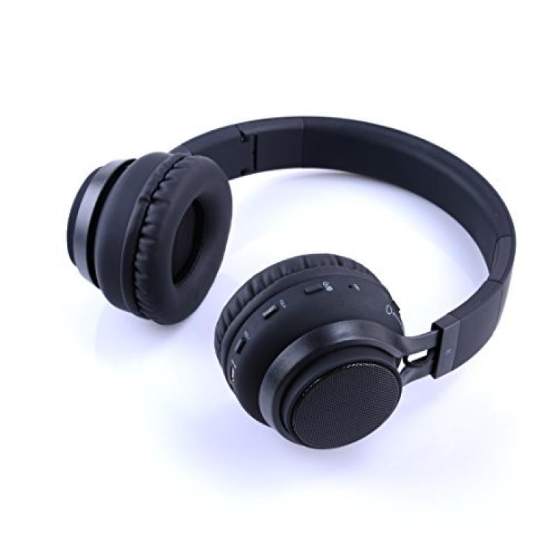 New Beyution Bluetooth Headphones 2 In 1 Rechargeable Stereo Speaker Headphones Wireless Bluetooth Headphones Mini Speaker Retail Packaging 35 Retail Price Black Walmart Com Walmart Com