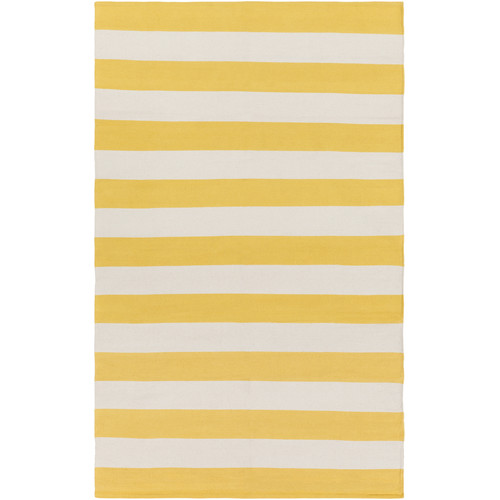 Artistic Weavers City Park Lauren Handmade Yellow/Ivory Area Rug