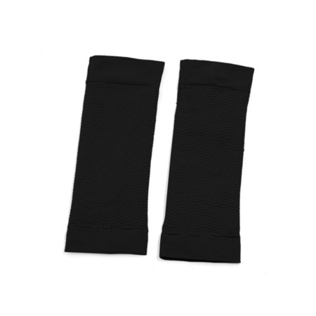 Black Weight Loss Arm Shaper Fat Buster Off Cellulite Slimming Sleeves Pair - image 1 de 4