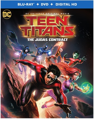 Teen Titans: The Judas Contract (Blu-ray + DVD) by