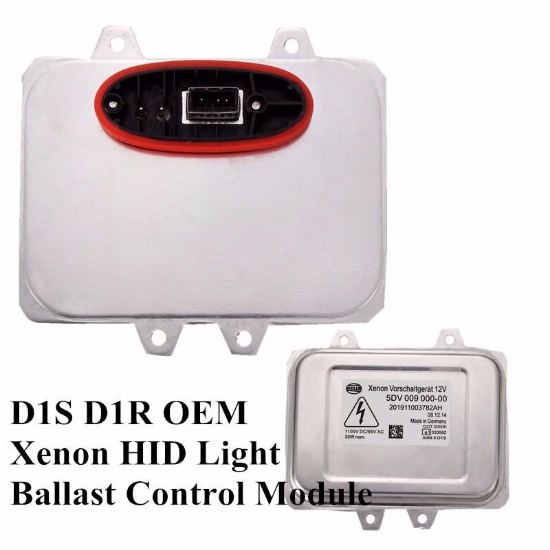 D1S HID Xenon Headlights Ballast Computer Control Module Unit ECU For Cadillac Escalade Hella 5DV 009 000-00 Headlight Unit