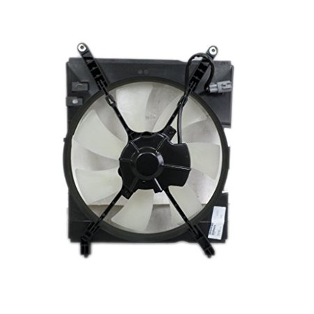 A-C Condenser Fan Assembly - Cooling Direct For/Fit TO3113103 00-01 Toyota Camry 4cy USA/Japan-Build (Toyota Cooling System)