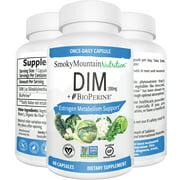 DIM 200mg Plus BioPerine (2 Month Supply) Estrogen Metabolism and Balance. For Menopause