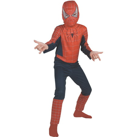 The Amazing Spider-Man Child Halloween Costume](Genuine Spiderman Costume)