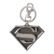 DC Superman Logo Pewter Keyring