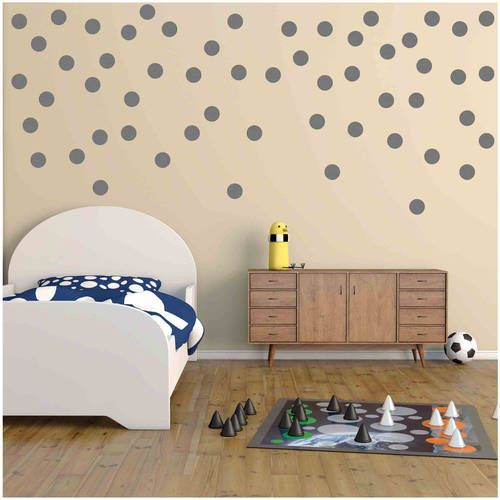Owl Hills Polka Dot Wall Stickers, 4""