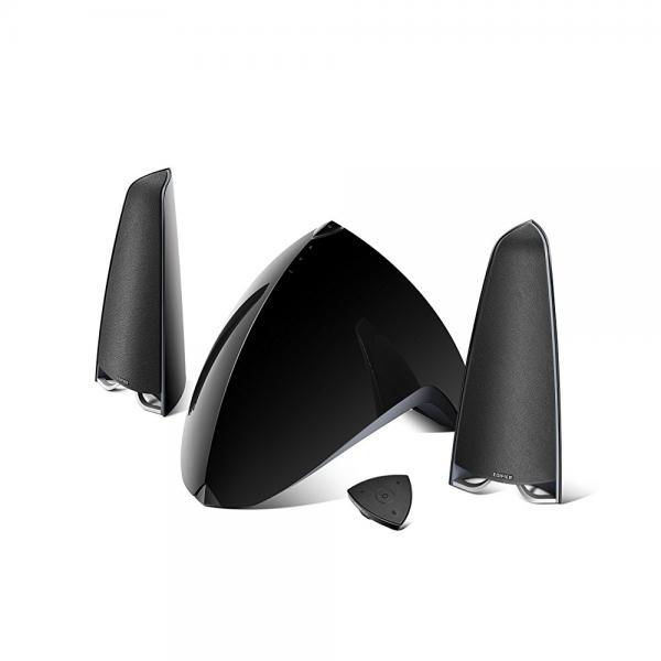 Edifier Prisma Encore e3360BT 2.1 Bluetooth Computer Speakers (3-Piece) Gloss Black 4001024