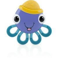 Nuby Vibe-eez Soothing Teether, Octopus
