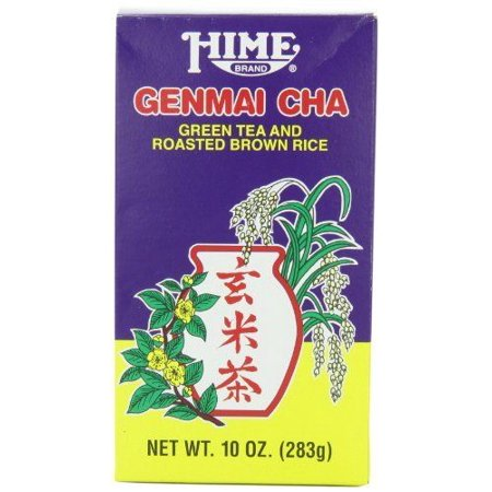 Hime Genmai Cha Green Tea and Roasted Brown Rice, 10-Ounce Boxes (Pack of 4), Ne