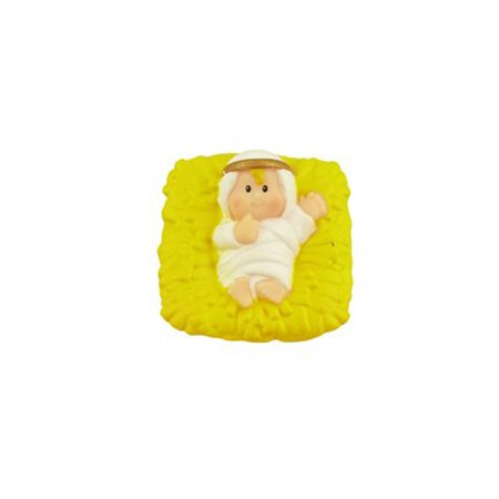 Fisher Price Little People Christmas Story Nativity Baby Jesus Replacement Figure Doll Toy (Jesus Doll)