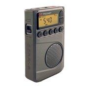 C. Crane CC Pocket Digital AM FM and NOAA Weather Portable Radio with Clock and Sleep Timer