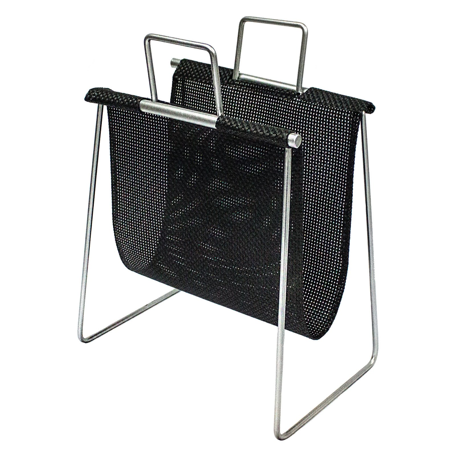 Sagebrook Home Metal Magazine Rack Silver by