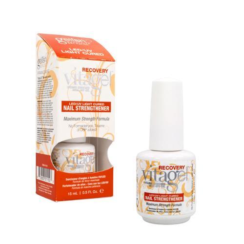Gelish Harmony 0.5oz Vita Recovery Treatment Strengthener Soak Off Nail Strengthener UV Gel, 01152