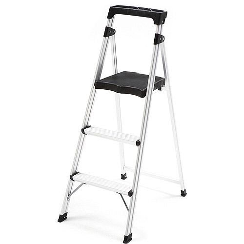 Tricam 3 Step Ultralight Aluminum Step Stool With Project