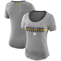 b2504948f Product Image Pittsburgh Steelers Nike Women s Strike Slub T-Shirt - Heathered  Gray