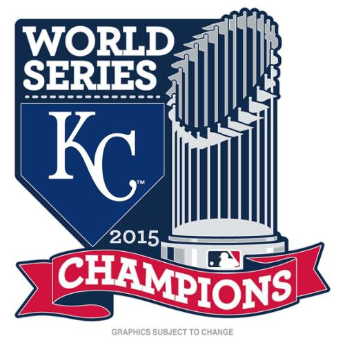Kansas City Royals Official MLB 1 inch  2015 World Series Champions Trophy Lapel Pin by Wincraft