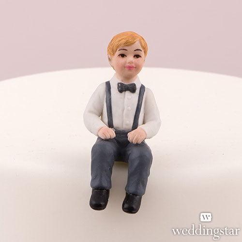Baby Boy Family Wedding Cake Topper Personalized Weddingstar Porcelain