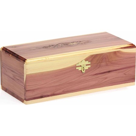 Cedar Fresh Keepsake Box Large With Lock