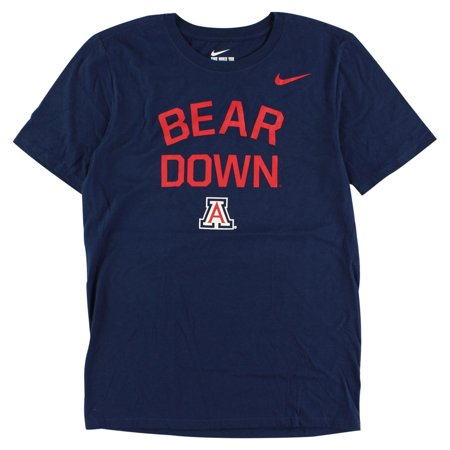 Nike Mens Arizona Wildcats Local Verbiage T Shirt Navy
